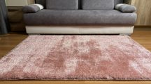 Prémium púder shaggy szőnyeg 60x110cm