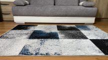 Modern szőnyeg akció, LARA kék-szürke 4865 60x110cm