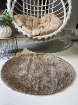 Prémium vizon kör shaggy szőnyeg 80cm