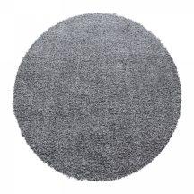 Ay ancona világos szürke 120cm - kör shaggy szőnyeg