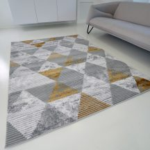 Modern szőnyeg akció, ZARIF 9928 szürke-arany 240x340cm