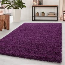 Ay dream 4000 lila 65x130cm egyszínű shaggy szőnyeg