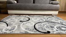 Modern szőnyeg, Platin szürke 1181 160x220cm