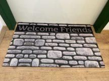KD Fashion lábtörlő 45x75cm-welcome friends