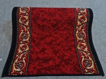 80cm széles futószőnyeg méterben-cirádás piros