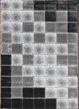 Hosszú Szálú Szőnyeg, Ber Seher 3D 2615 160X220Cm Fekete-Szürke Szőnyeg