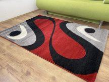 Kyra 726 piros 150x230cm - modern szőnyeg