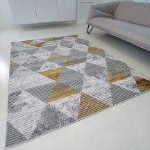 Modern szőnyeg akció, ZARIF 9928 szürke-arany 160x220cm