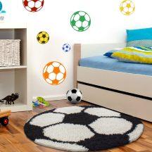 Ay fun 6001 fekete 120cm gyerek shaggy szőnyeg