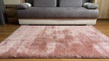 Prémium púder shaggy szőnyeg 160x220cm