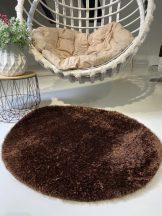Prémium barna kör shaggy szőnyeg 80cm