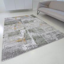 Modern szőnyeg akció, ZARIF 007 zöld-arany 160x220cm