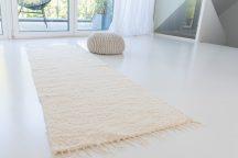 Rüti Rongyszőnyeg 70x200cm nyers színű
