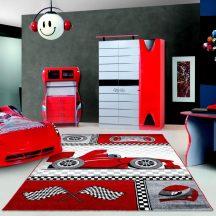 Ay kids 460 piros 160x230cm gyerek szőnyeg