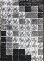 Hosszú Szálú Szőnyeg, Ber Seher 3D 2615 80X150Cm Fekete-Szürke Szőnyeg
