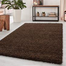 Ay dream 4000 barna 65x130cm egyszínű shaggy szőnyeg