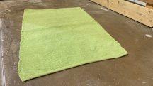 Zsenília  60X90Cm egyszínű zöld Szőnyeg