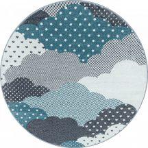 BAMBI 820 BLUE 120 x 120 -kör szőnyeg