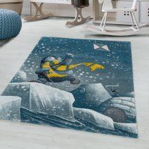 FUNNY 2110 BLUE 160 x 160 -kör szőnyeg